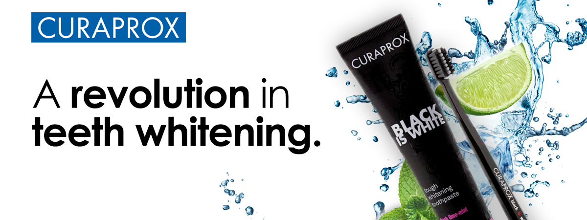 Image of Curaprox Black is White Blog Banner